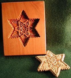 画像1: 6-Point STAR Cookie Mold