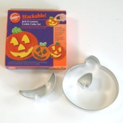 画像1: 【30%OFF/SALE】Stackable*Jack-O-Lantern cookie cutter set